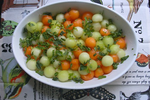 Melon & Mint Salad