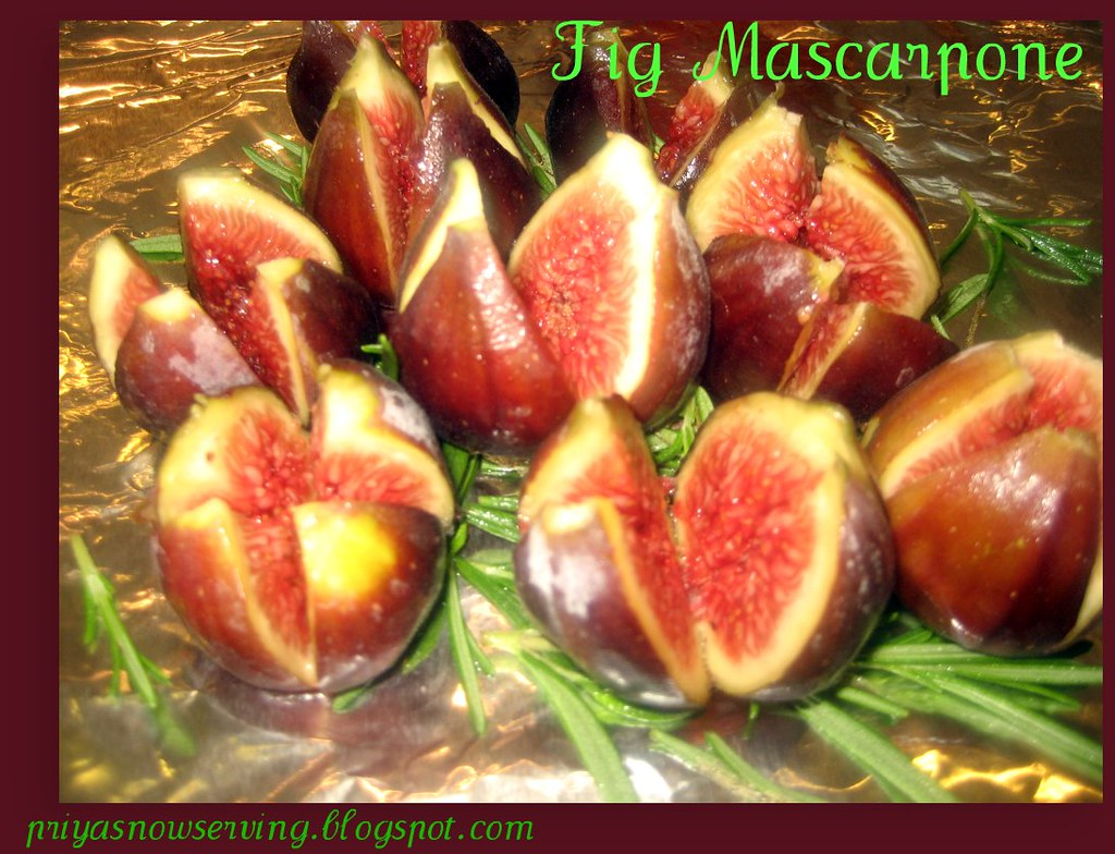 Fig Mascarpone