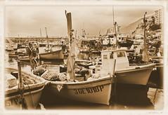 Camogli - pescherecci (Simone_Callegari) Tags: italy boat mare harbour liguria barche genoa genova porto camogli pesca porticciolo gozzo pescherecci
