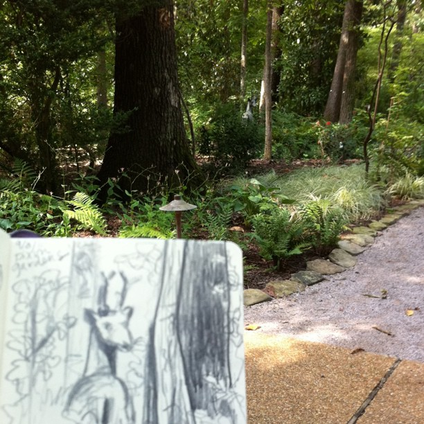 Sketching at the Dixon