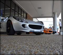 wishful thinking (kathleen walsh) Tags: orange black silver lotus zoom dreaming sportscars evilmini