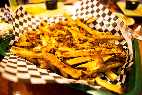 Flat Belly Fries at Bocktown