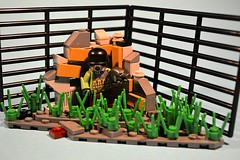 [Duck'n'Cover] (~.QuaD.~) Tags: green mod war explore future weapons brickarms