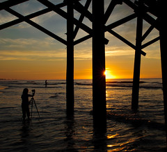 My Little Photographer (Paul Gowder) Tags: beach sc sunrise myrtlebeach nikon southcarolina carolina d700 nikond700