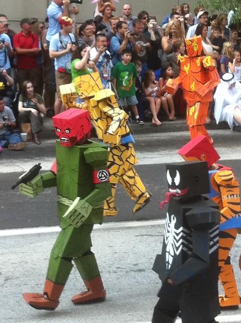 2011 Dragoncon - Boxman/Boxmen Superheros