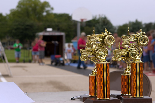 pedal pull tractor trophies