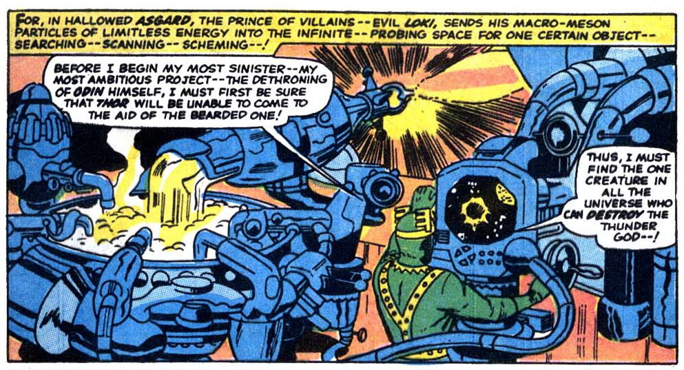 Jack Kirby would have turned 95 today. So I guess now's as good a time as  any to say that I didn't get him at first. The splayed, squared hands and  gaping ...