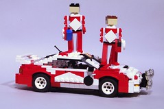 Toyota Celica ST205 - Toyota Team Europe WRC Marlboro (lego911) Tags: dylan sports lego rally 4wd buddy wrc toyota characters 1995 1994 figures challenge awd racer lugnuts celica twoofakind 46th miniland tte st205 toyotateameurope dylandenton
