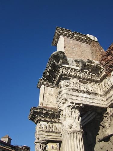 Roman Forum Detail