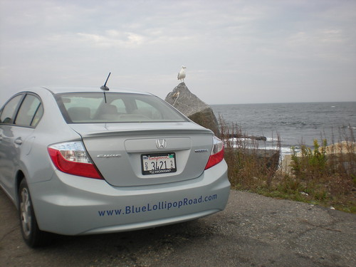 BLR Loaned 2012 Honda Civic Hybrid at Rye Beach, NH