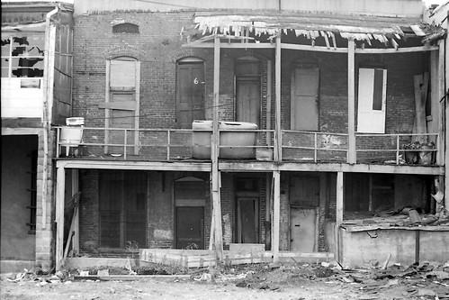 Rear of Beale Street April 1974 by joespake