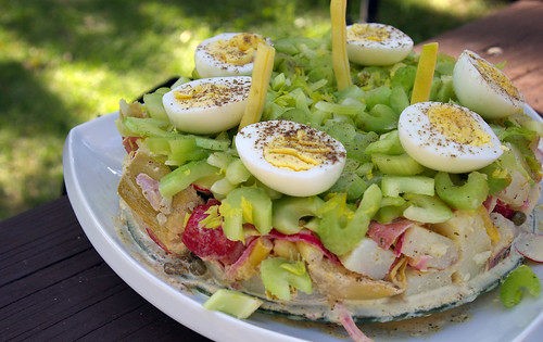 "Potato Salad ""Cake"""