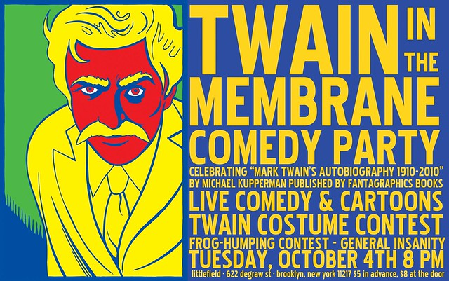 Twain in the Membrane Comedy Party