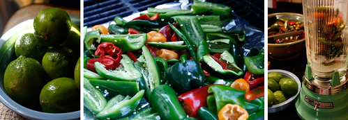Grilling Hot Peppers