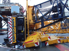 Ainscough Liebherr LG 1550 Catastrophic Failure (Jack,Shepherd) Tags: lg collapse 1550 liebherr invergordon ainscough lg1550