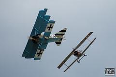 G-CDXR - PFA 238-14043 - Private - Fokker DR.1 Triplane Replica - 110710 - Duxford - Steven Gray - IMG_8841