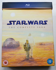 Star Wars on Blu Ray