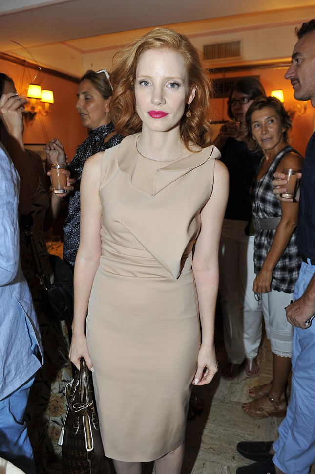 5 - Jessica Chastain - Evento Vogue Italia