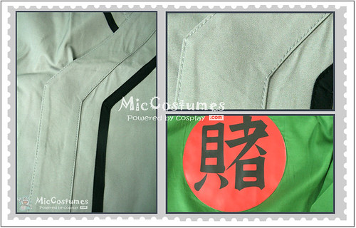 Naruto Green Tsunade Cosplay costume1