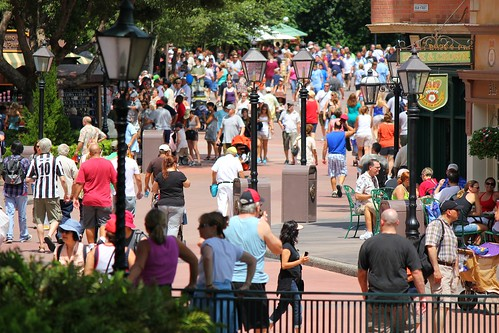 Epcot crowd