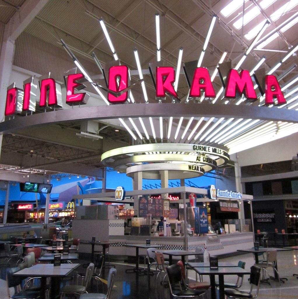 Gurnee Mills Mall Food Court