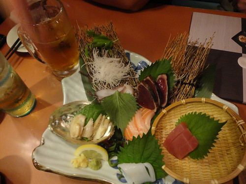 Dinner - Izakaya - Sashimi