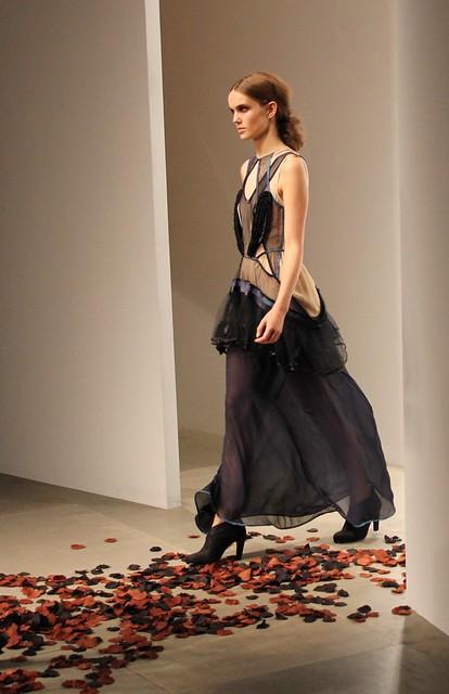 london fashion collection fashionweek boraaksu ss12