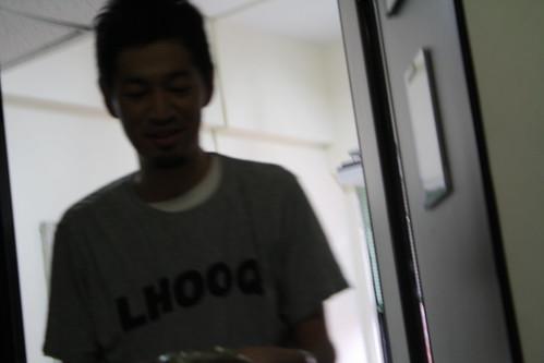[台湾2.5] 教室の外で見てたら、また出てきた。