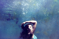 Deep Blue (leslie.june) Tags: water fashion photography aqua underwater bubbles springs underwaterphotography underwaterportrait underwaterphotographybylesliejune