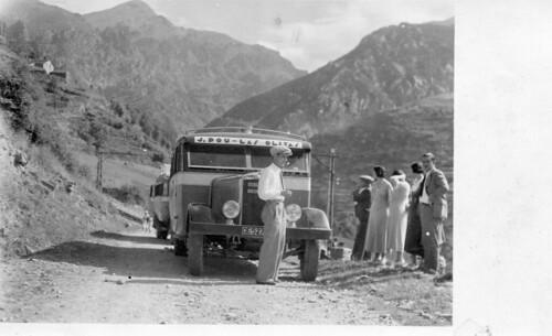carretera de Ribes a Puigcerdà pas a nivell