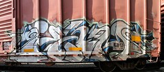 HAM (KNOWLEDGE IS KING_) Tags: railroad color art yard train bench one graffiti paint panel tracks railway ham socal boxcar piece burner bomb railfan freight fill tko btr in rollingstock cre paintedsteel