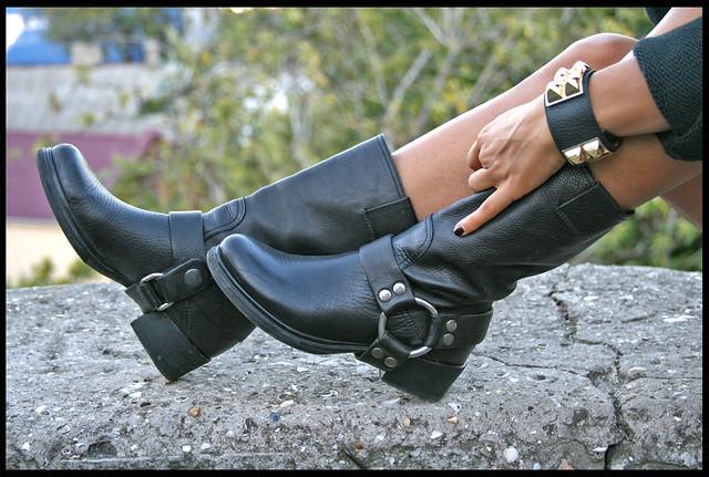 miu miu biker boots