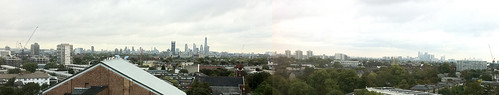 The amazing view from Dalton Maag's offices in Brixton