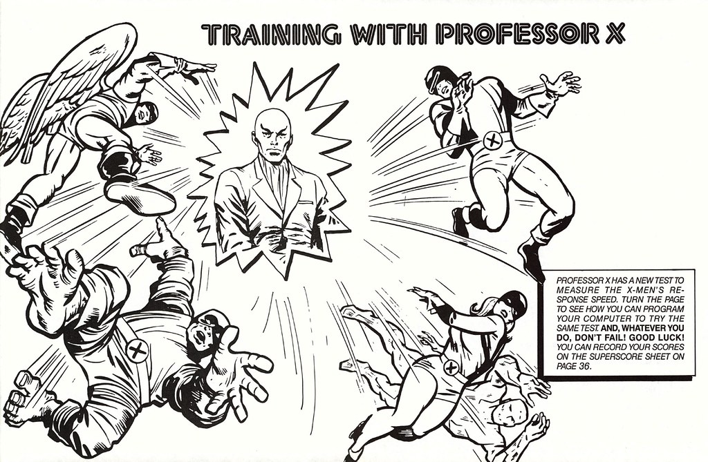 Training with Prof X