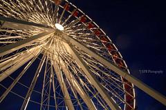 the ferris wheel at navy pier (riggsy23) Tags: carnival chicago wheel canon lights pier ride nightshot navy fair ferris noflash