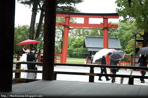 Kamigamo-jinja 上賀茂神社 - Second Torii
