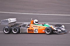 1976 March 2-4-0 (Dave Hamster) Tags: march beta f1 racing historic grandprix silverstone masters formula1 motorracing 1976 47 motorsport 240 autosport silverstoneclassic 6wheeler grandprixmasters 6wheels historicracing sixwheeler march240 sixwheels