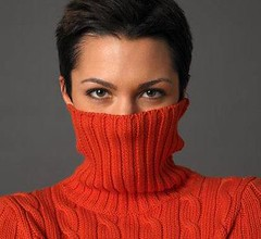 Lady in sexy Turtleneck (Mytwist) Tags: turtleneck sweater jumper wool lady style vouge fashion polo