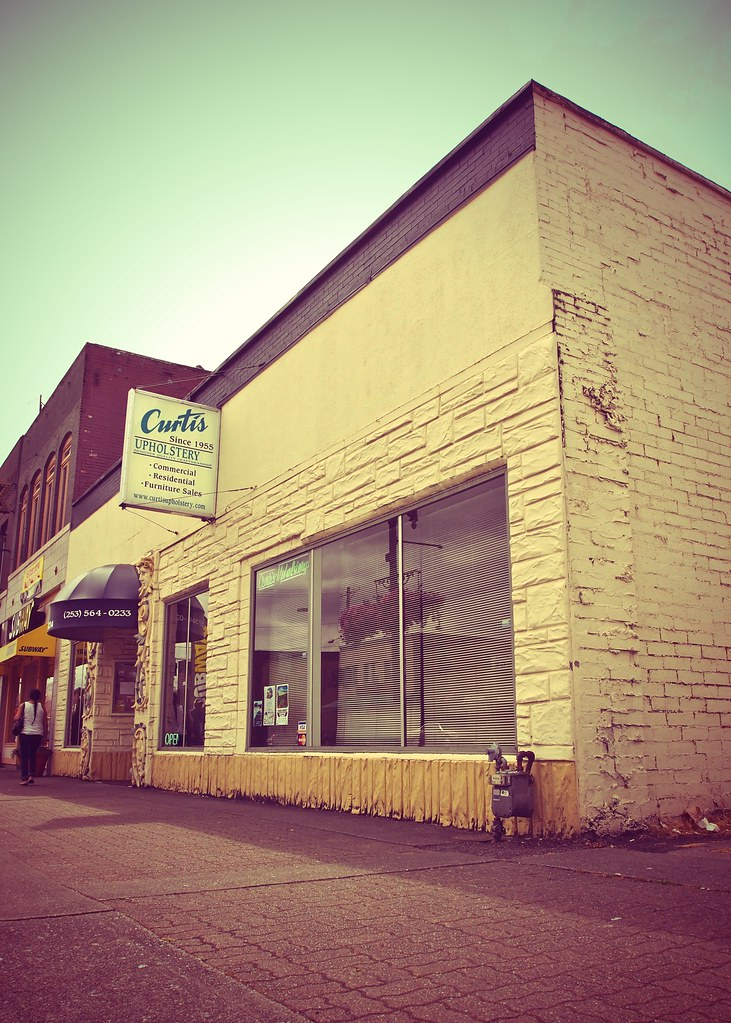 Curtis Upholstery shop