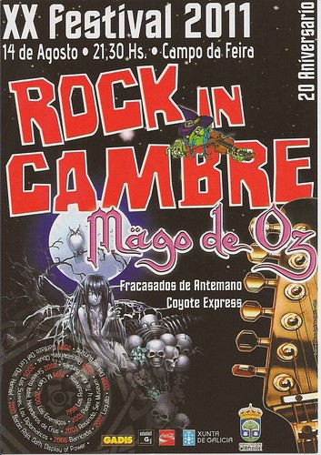 Cambre 2011 - Rock in Cambre - cartel