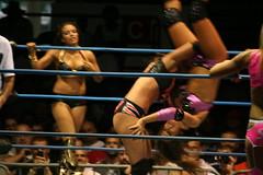 Ms Tessmacher & Velvet Sky vs Rosita & Sarita (MikeKalasnik) Tags: mike joel wrestling impact coliseum salem winston kaz annex tna