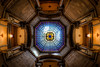 Kaleidoscope (JGo9) Tags: light detail building stone architecture canon eos rebel lights indianapolis indy indiana kaleidoscope fisheye dome marble ornate hdr in t1i