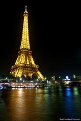 Eiffel Tower, Paris (Stuart-Saunders) Tags: paris france colour tower night long exposure shot eiffel scape