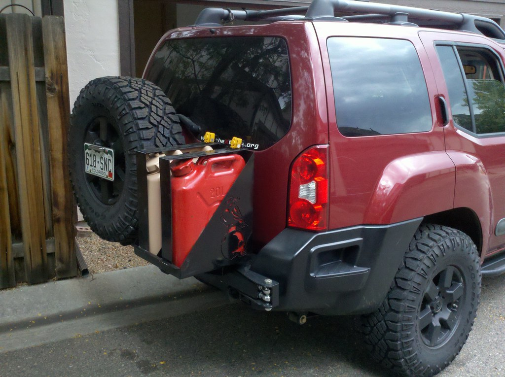 Raven S Rig New Tires Second Generation Nissan Xterra