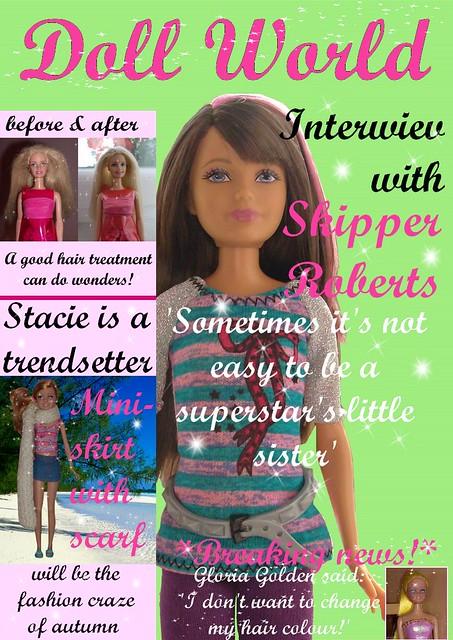 fashion magazine stacie dolls barbie skipper gloriagolden