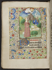 Book of Hours, f.58v, (184 x 133 mm), 15th cen...