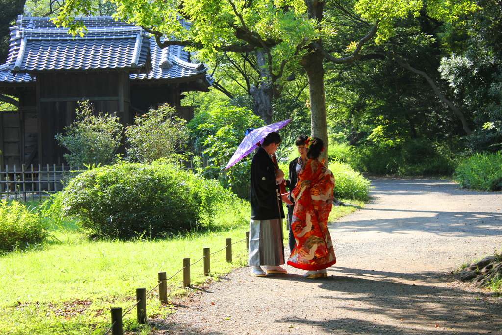 A walking guide of Hamamatsucho  (2)