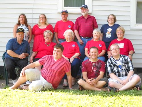 Grandma Rosie & her posse.