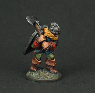 Grenadier Fighting Man Battle Axeman