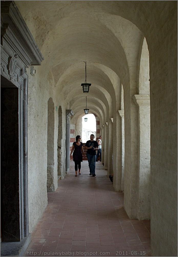 Janowiec zamek, krużganek I piętro
